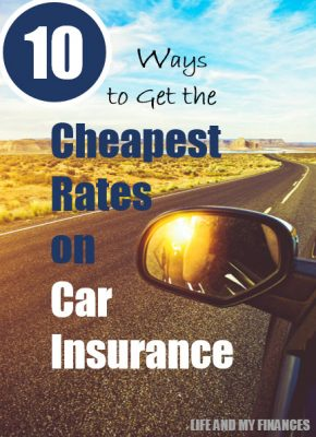 get the cheapest rates on car insurance