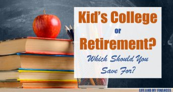 Kid's College or Retirement? What Should You Be Saving For??