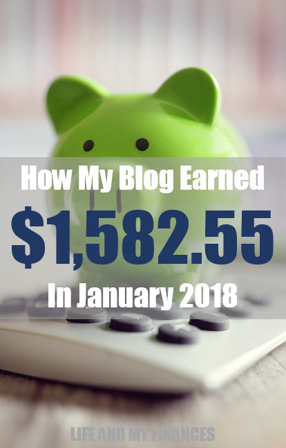 January 2018 Blog Income Report