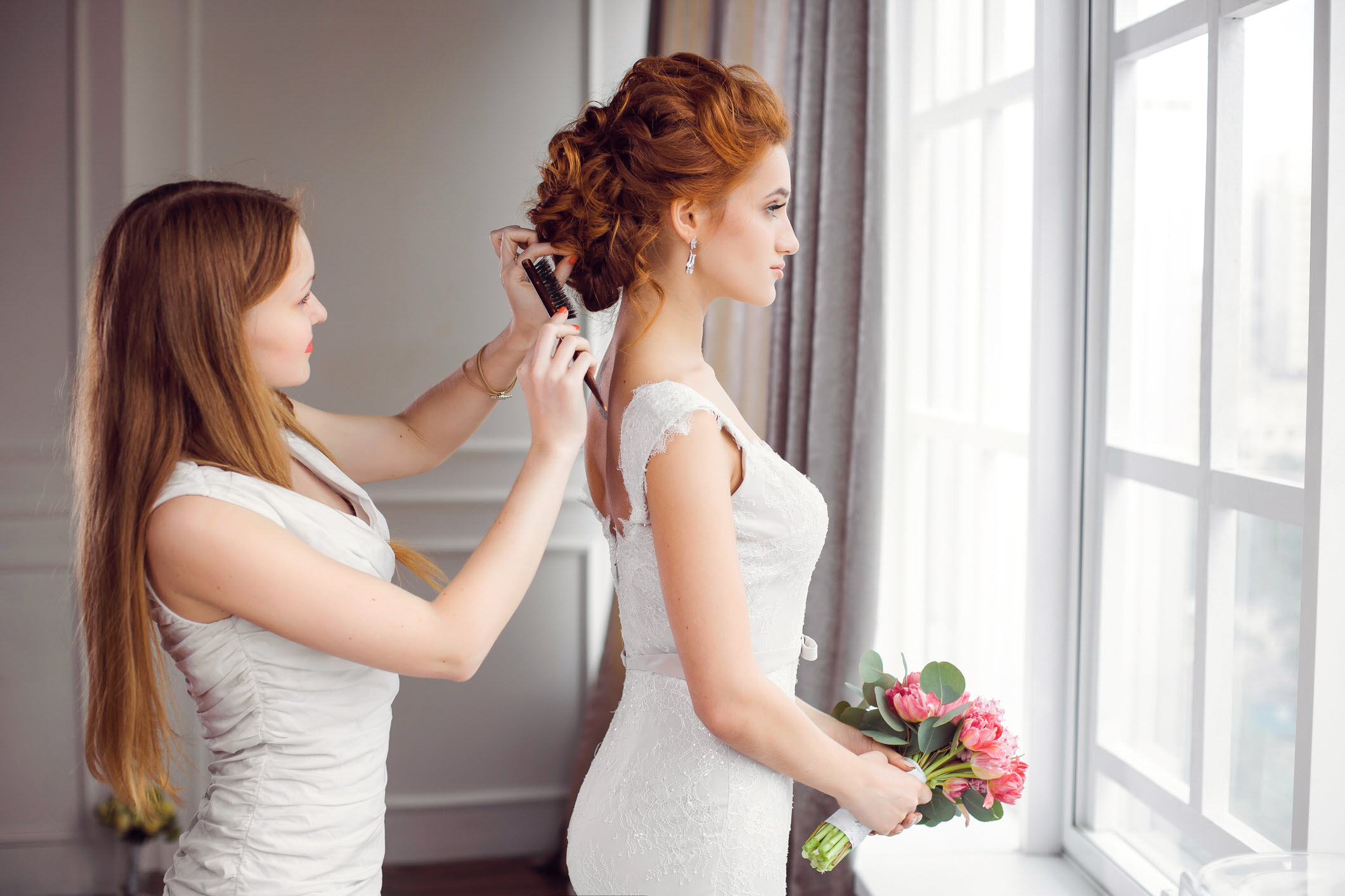 high paying side hustles for single moms hair stylist for weddings