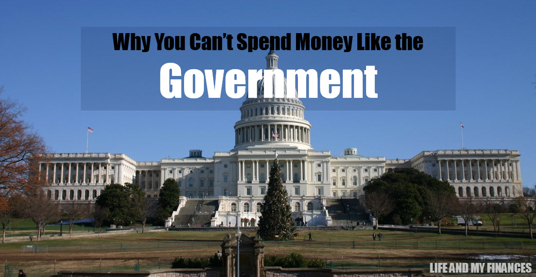 spend money like the government