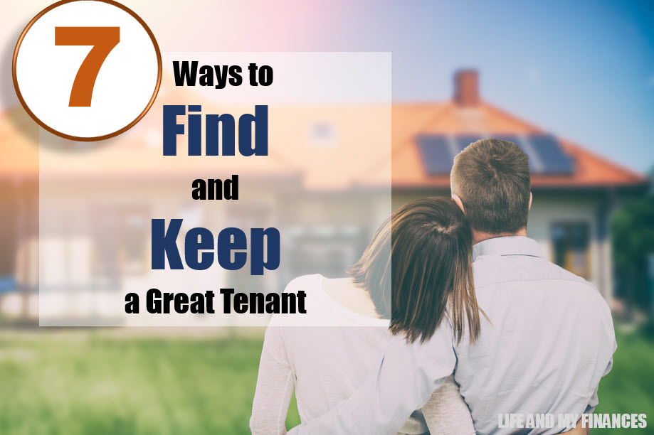 find a keep great tenants