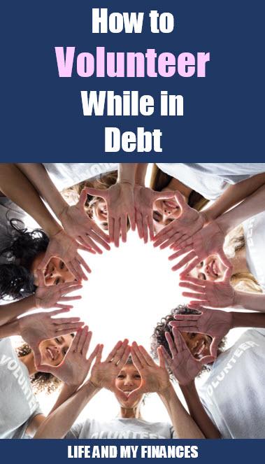 volunteer while in debt