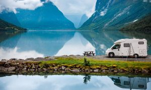 make money while traveling the world - camping