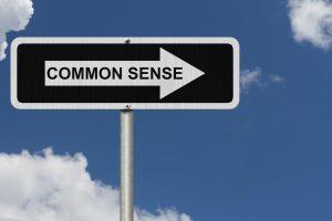 common sense stuff that nobody does