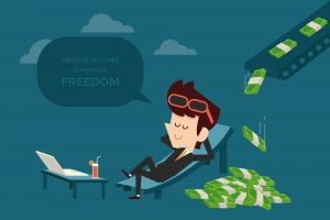 make a passive income