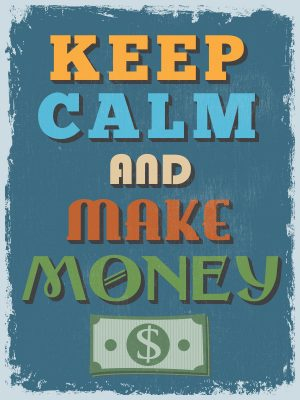how much do you actually make per hour - keep calm and make money