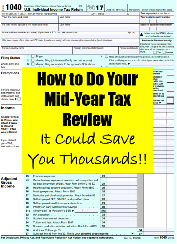 mid-year tax review