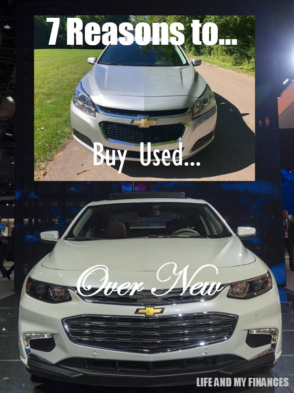 reasons to buy used over new