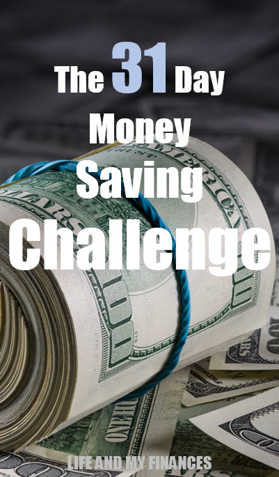 31 day money saving challenge