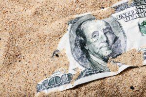 losing to depreciation
