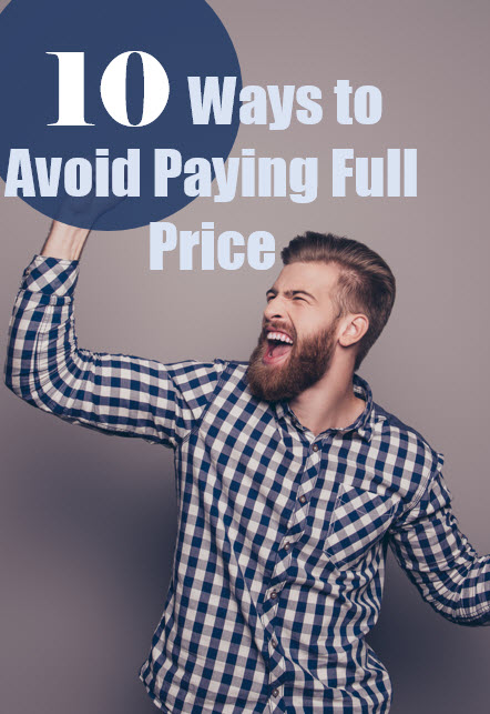 avoid paying full price pin