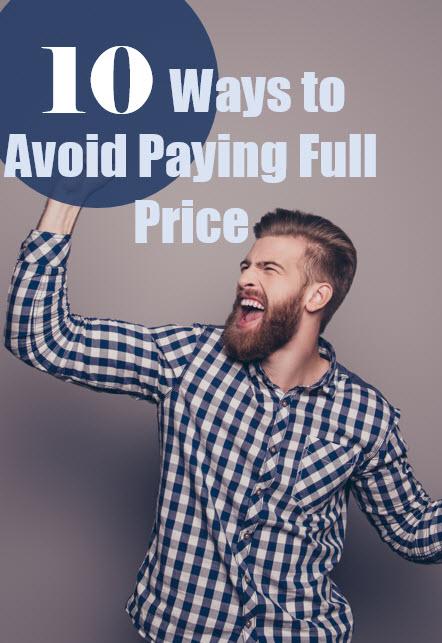 avoid paying full price pin