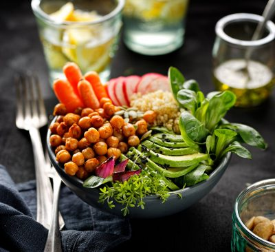 plant-based diet dish
