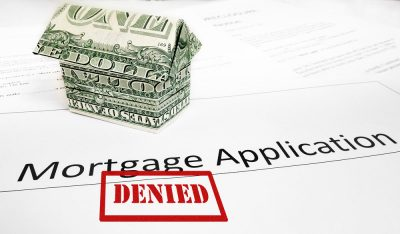 mortgage denied