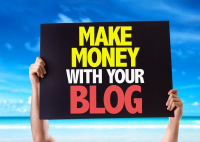 ways to monetize your blog
