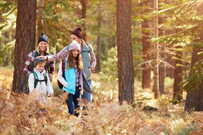 free activities to do with kids - hiking