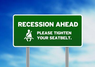 prepare for a recession - sign