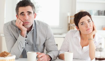 phishing scams - worn out couple