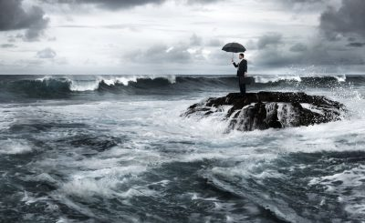 struggling financially - financial storms