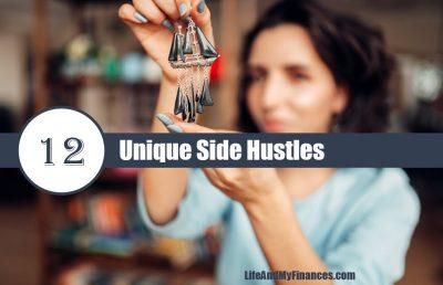 unique side hustles