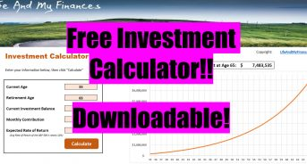 Investment Calculator - Free Excel Download!