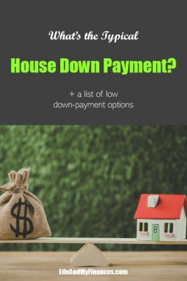 typical house payment