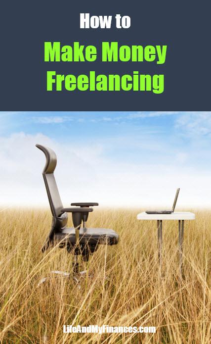 how to make money freelancing - pin