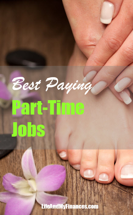 best paying part time jobs