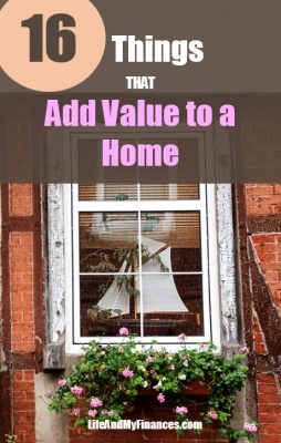 things that add value to a house