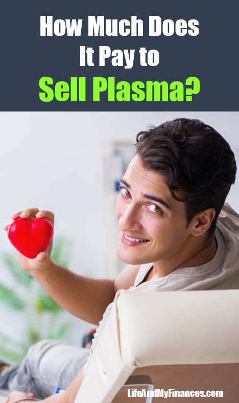 how much does it pay to sell plasma