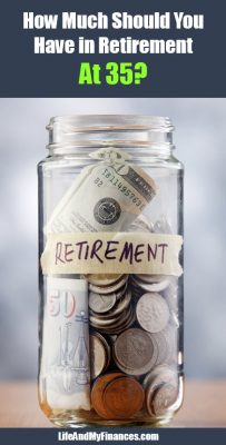 how much should you have in retirement at 35