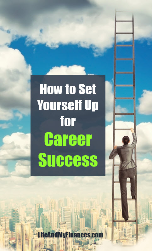how to set yourself up for career success