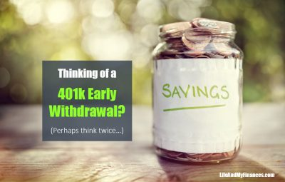 401k early withdrawal