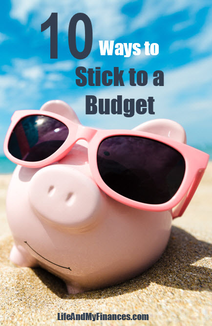 How to Stick to a Budget - pin