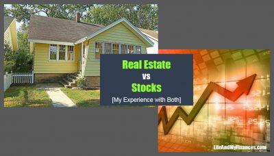 real estate vs stocks