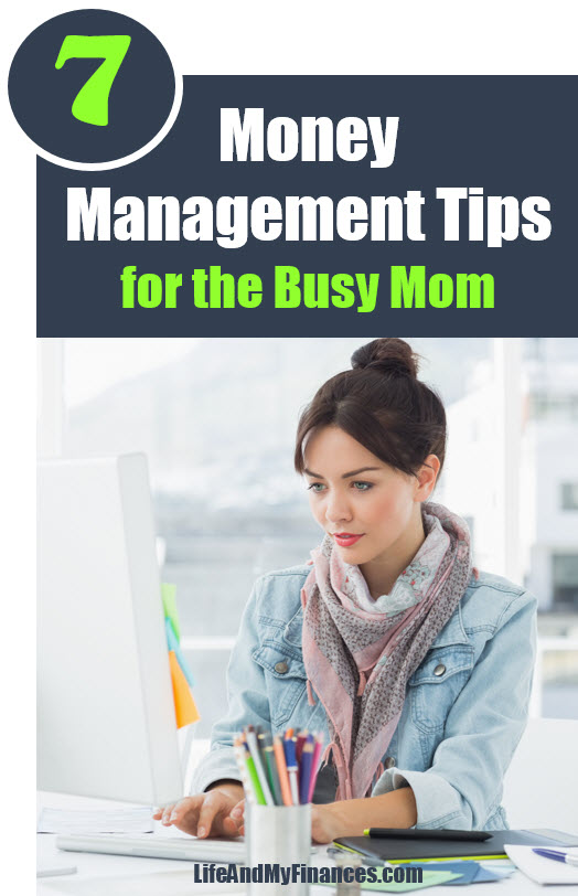 Money Management Tips for the Busy Mom