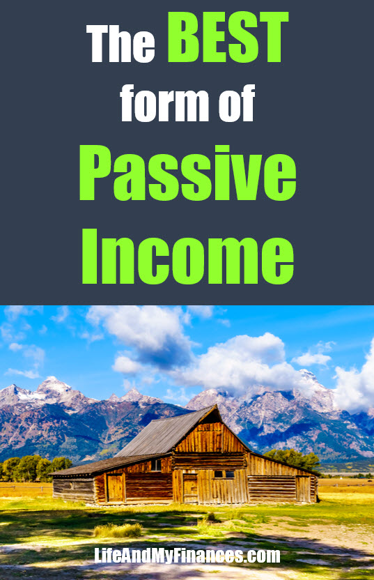 best form of passive income