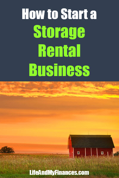 how to start a storage rental business
