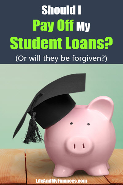 should I pay off my student loans