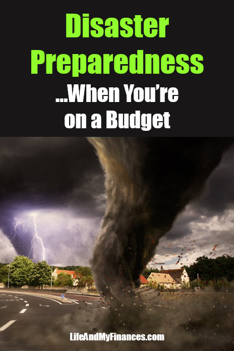 disaster preparedness on a budget