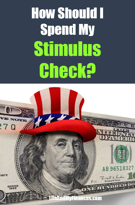 how should I spend my stimulus check