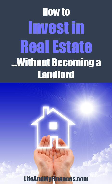 invest in real estate without becoming a landlord