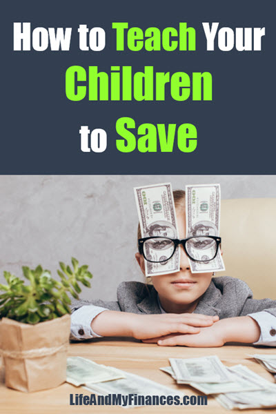 How to teach children to save