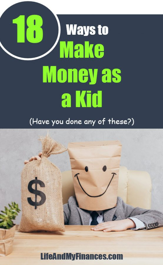 Want to earn money as a kid? Here's 18 great options!