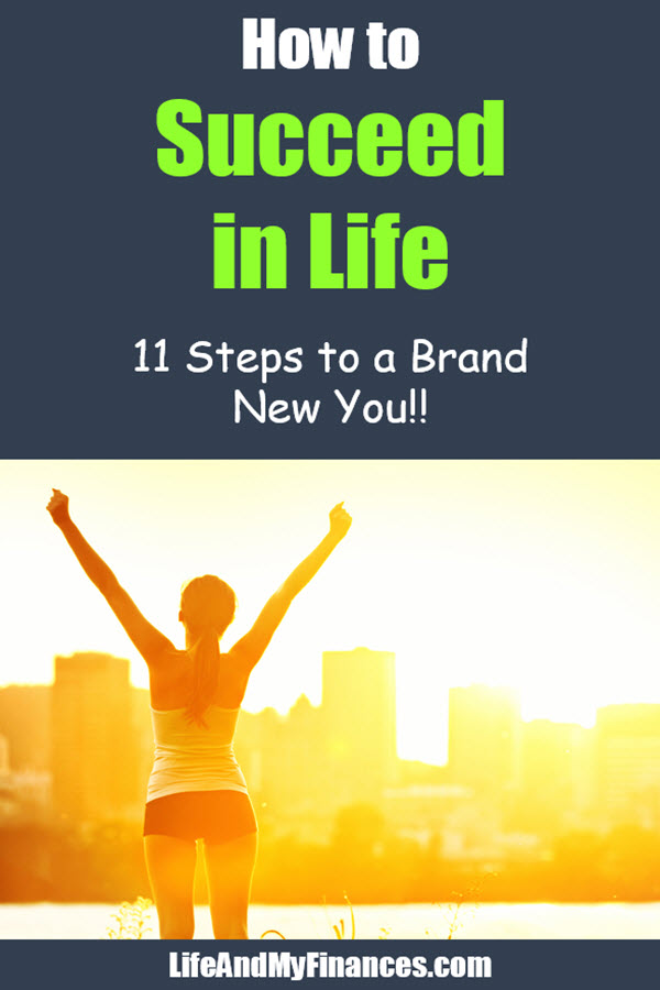 how to attain success in life