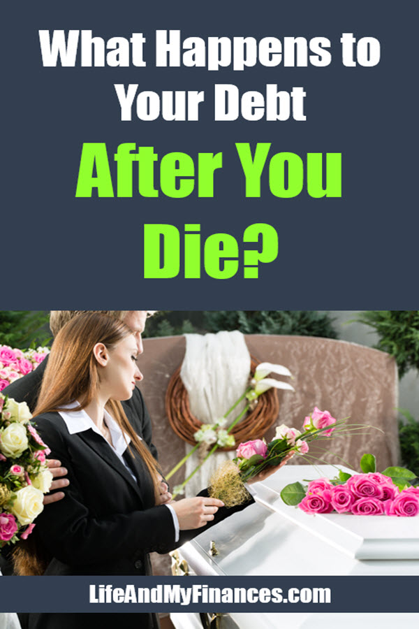 What happens with debt after death? Are spouses or kids responsible?