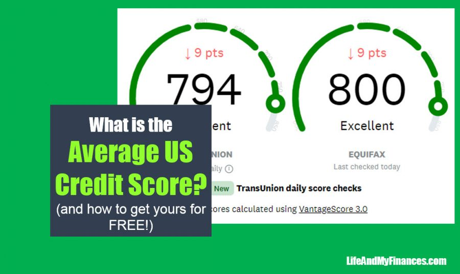 What is the Average US Credit Score? (...and how to see yours for FREE!!)