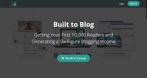 built to blog generating a six figure blogging income
