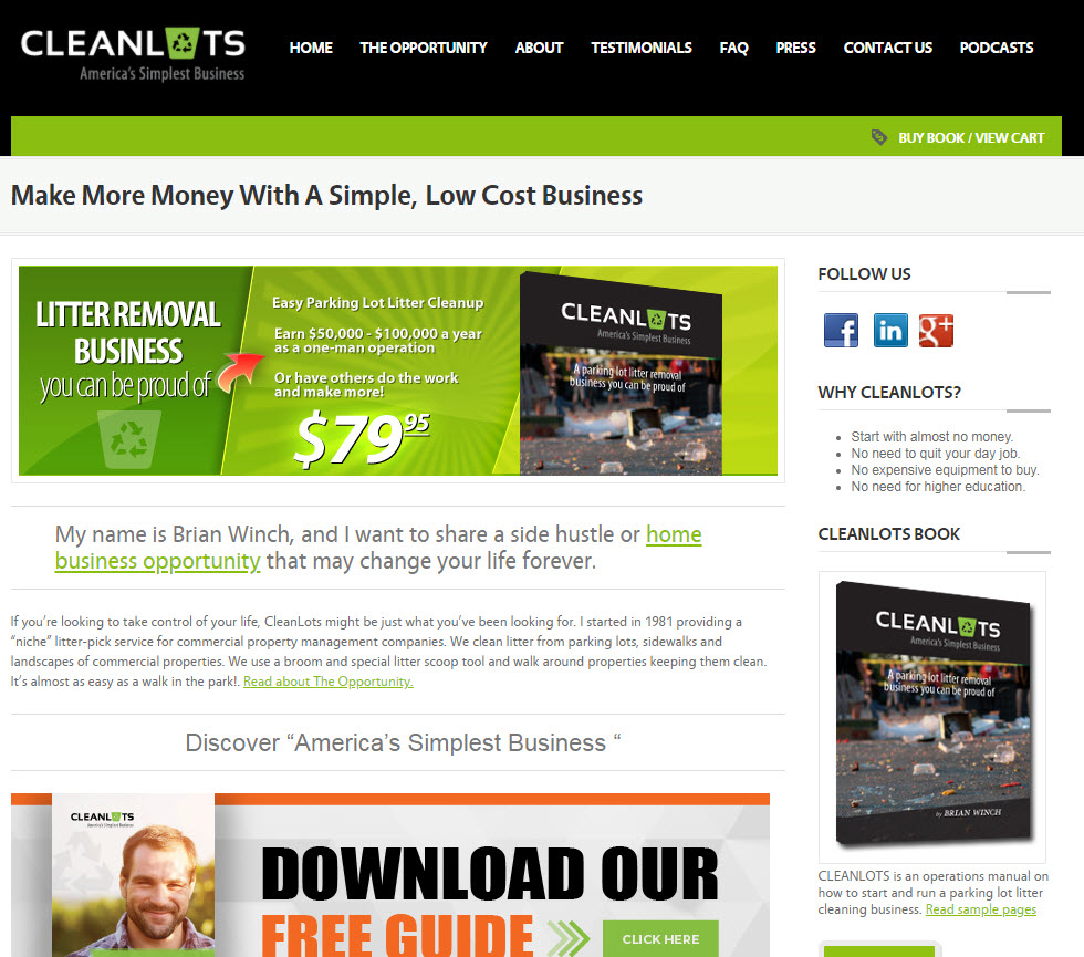 get paid to pick up trash with CleanLots